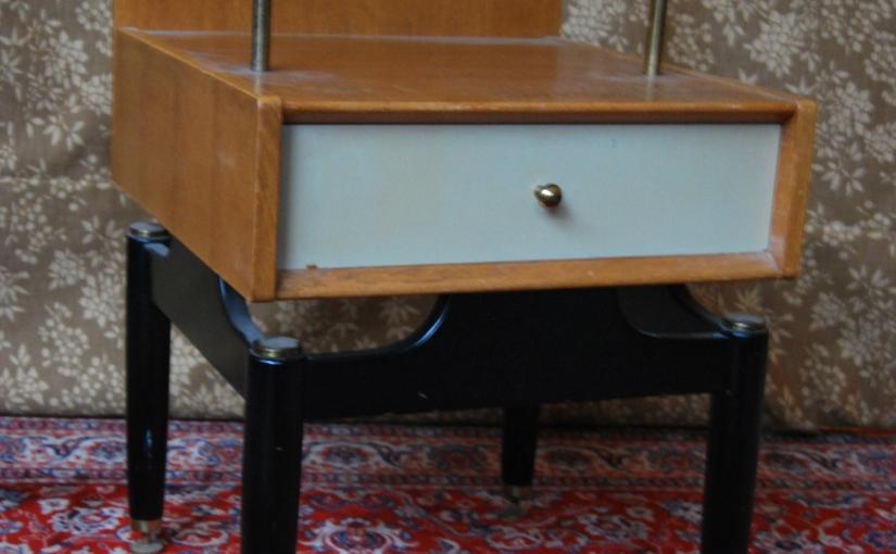 1960s G-Plan Bedside Cabinet by designer E. Gomme,£79