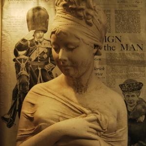 Original French 1930s Alabaster Bust