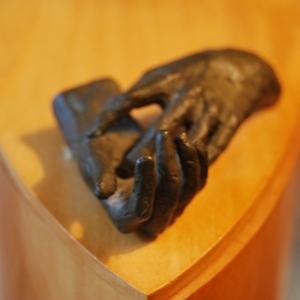 """""""Colombina"""" Original Sculpture by artist Cecilia Miguez"""