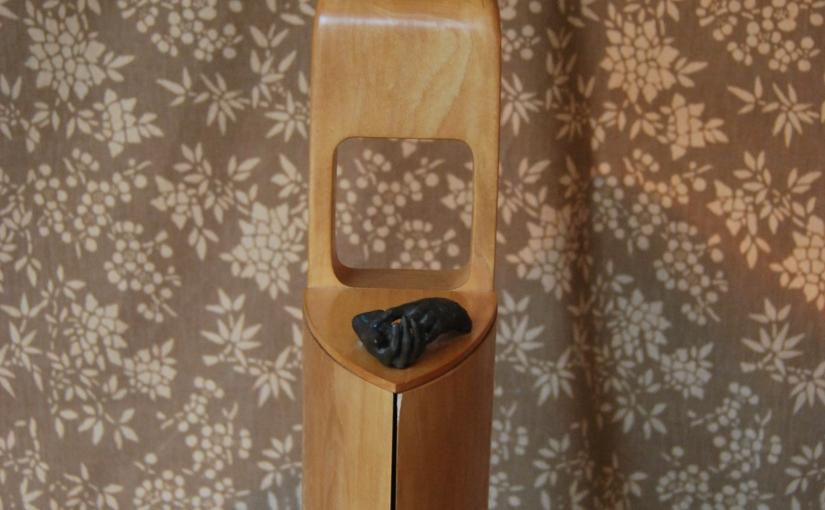 """""""Colombina"""" Original Sculpture by artist CeciliaMiguez"""