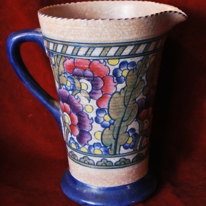Crown Ducal Jug by Charlotte Rhead 1932, £245