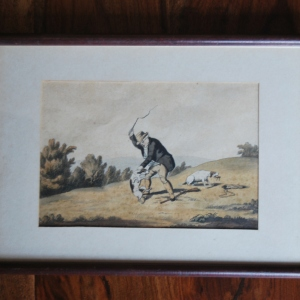 """Eight Representations of Hunting"" by Robert Frankland Esq."