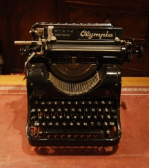 Vintage Olympia Model Office Typewriter £129