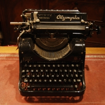 Vintage Olympia Model Office Typewriter £129