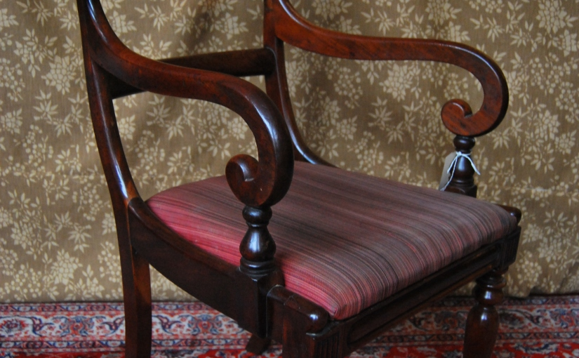 7 Original Mid-Victorian Bar-back Dining Chairs in Solid MahoganySOLD