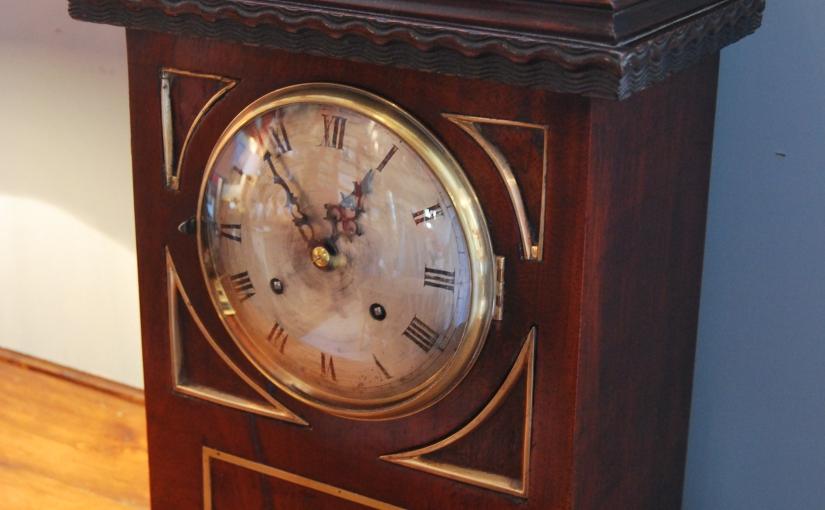 1900s Mahogany Cased Bracket Clock£495