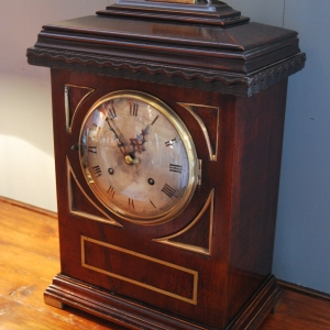 1900s Mahogany Cased Bracket Clock £495