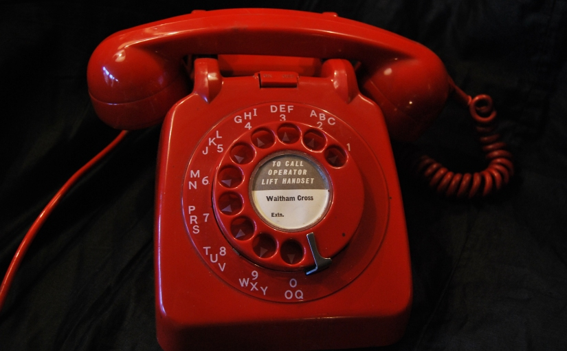 Original late 1950s GPO Red Lacquer-finish Telephone£39
