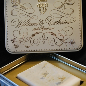 Genuine piece of Royal Wedding Cake from William & Kates Wedding in 2011 with cerfiticate