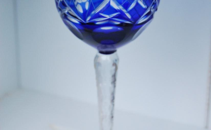 Set of 7 Mid-20th Century Long Stemmed Coloured Hock Glasses£79