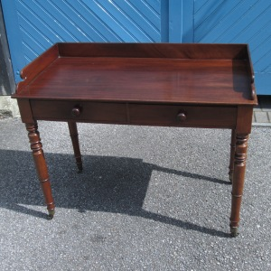 Early Victorian Solid Mahogany Serving Table