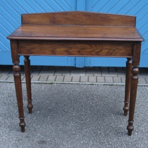 Victorian English Oak Sidetable