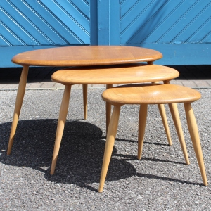 Original 1960s Nest of Tables by Ercol
