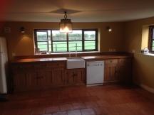 Bespoke Reclaimed Pine Kitchen with Oak worktops
