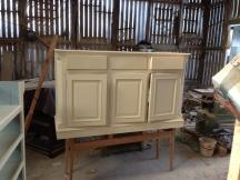 Bespoke Hall Cupboard in Production 1/3