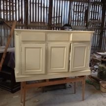 Bespoke Hall Cupboard in Production 1/3