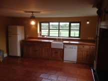 Bespoke Reclaimed Pine Kitchen with Oak worktops