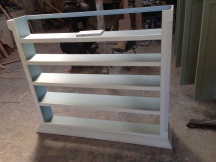 Bespoke Hall Cupboard in Production 2/3