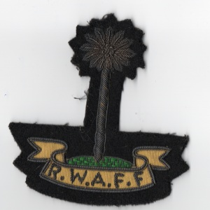 Royal West African Frontier Force Uniform Patch