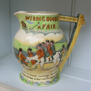 1920′s Widdecombe Fair Musical Jug by Crown Devon