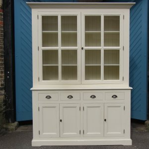 Good Quality White Painted Kitchen Dresser