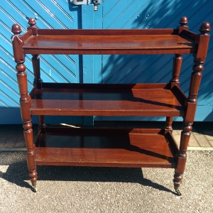 Mid Victorian 3-Shelf Whatnot