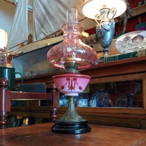 English 20's/30's Paraffin Lantern