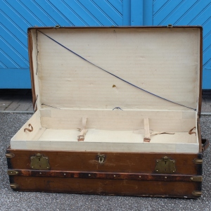 Louis Vuitton Style 1920s Cabin Trunk