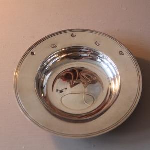 English Silver Hallmarked Plates